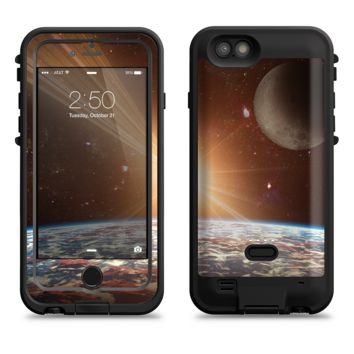The Earth, Moon and Sun Space Scene  iPhone 6/6s Plus LifeProof Fre POWER Case Skin Kit
