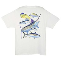 Guy Harvey Atlantic Collage T-Shirt