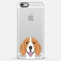 Beagle Cell Phone Case Transparent iPhone6 Case for dog person iPhone 6 case by Pet Friendly | Casetify