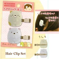 San-X Sumikko Gurashi ''Things in the Corner'' Hair Clip Set