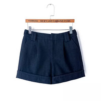 Winter Women's Fashion Boot Cut Shorts [4917795140]