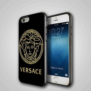 versace, iPhone 4/4S, 5/5S, 5C Series Hard Plastic Case
