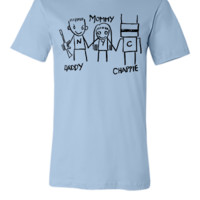 Daddy - Mommy - Chappie - Unisex T-shirt