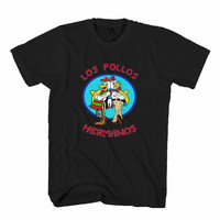 Los Pollos Hermanos Breaking Bad Jesse Pink Heisenberg Man's T-Shirt