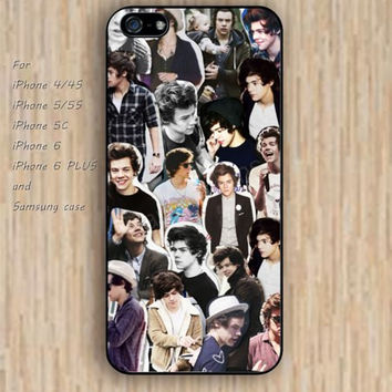 iPhone 5s 6 case colorful one direction phone case iphone case,ipod case,samsung galaxy case available plastic rubber case waterproof B292