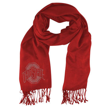 Ohio State Buckeyes NCAA Pashi Fan Scarf (Light Red)
