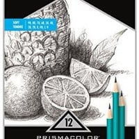 Prismacolor - Premier Turquoise Soft Grade Graphite Pencils,Art Pencils,(1-Pack of 12)