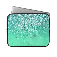 Glitter Variations I Laptop Computer Sleeve