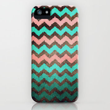 Beaded Chevron iPhone Case by Sandra Arduini | Society6