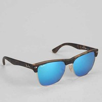 Ray-Ban Havana Blue Clubmaster Sunglasses - Blue One