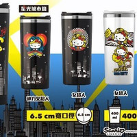 Sanrio Hello Kitty x Dc Comics Taiwan 7-11 Limited 400 ML 304 Stainless Steel 6 Cup Set