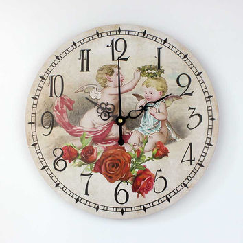 children room decoration wall clock fashion home decoration accessories absolutely silent kids bedroom wall decor watch
