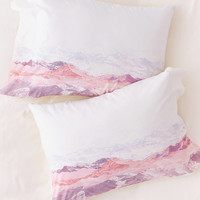 Iveta Abolina Pastel Mountains III Pillowcase Set | Urban Outfitters