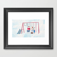 The Fault in Our Stars #4 Framed Art Print by Anthony Londer | Society6