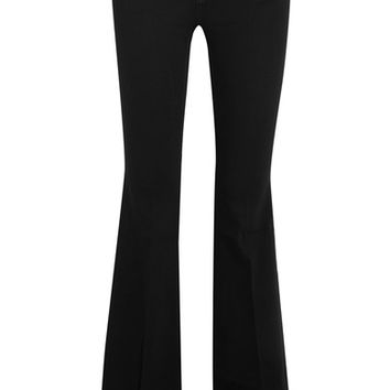 Stella McCartney - The '70s mid-rise flared jeans