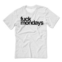 F*** Mondays Unisex T-shirt | I Hate Mondays Mornings Shirt | Inspirational Motivational Shirts | Love Life | Eat Sleep Gym Sweathshirt Ugg