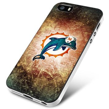 MIAMI DOLPHINS EDITED iPhone 5 | 5S | 5SE Case Planetscase.com
