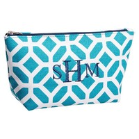 Surf Swell Beauty Pouch, Navy Peyton