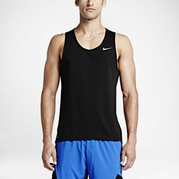 Nike Dri-FIT Contour Men's Running Singlet