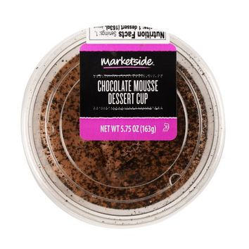 Marketside Chocolate Mousse Dessert Cup, 5.75 oz - Walmart.com
