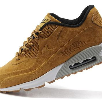 """Nike Air Max 90"" Unisex Sport Casual Anti-fur Air Cushion Sneakers Couple Running Shoes"