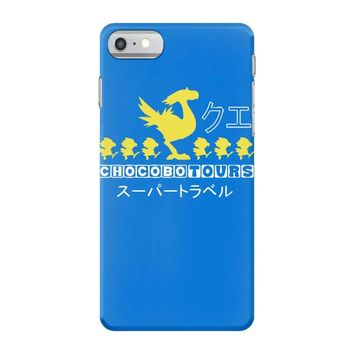chocobo tours final fantasy iPhone 7 Case