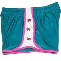 Bows Before Bros Shorts in Green by Krass & Co. - FINAL SALE