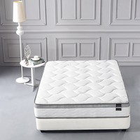 New Century® Organic Cotton Comfort Plush 10 Inch Mattress With Euro Pillow Top