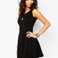 Boohoo Sleeveless Skater Dress