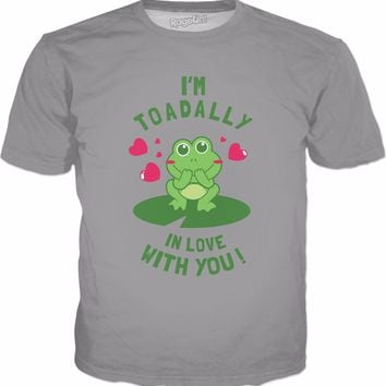 Toad-ally In Love With You T-Shirt - Cute Valentines Gift