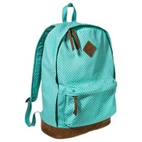 Mossimo Supply Co. Polka Dot Backpack Handbag - Blue