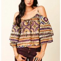 Show Me Your Mumu - Shannon Shoulder Top