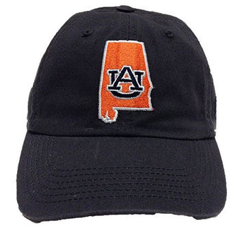 Top of the World - Auburn - State Patch - Monogram - Team Color - Hat