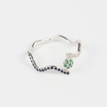 "SABINE GETTY ""Wiggly Love"" Ring"