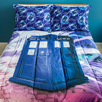 Doctor Who Sublimation Bedding Set