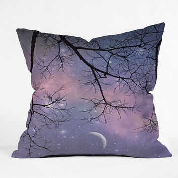 Shannon Clark Twinkle Twinkle Throw Pillow