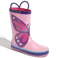 Toddler Girl's Western Chief 'Wings' Rain Boot,