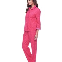 String Of Hearts W Gifting Flannel Pj Set by Juicy Couture,