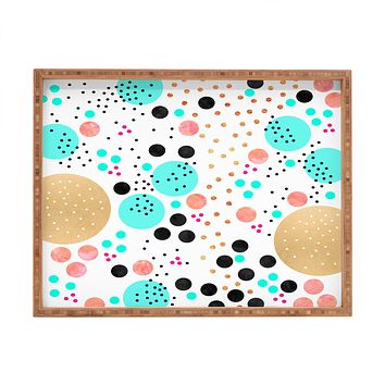 Elisabeth Fredriksson Colorful Champagne Rectangular Tray