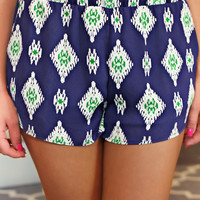 Emerald Jewel Shorts