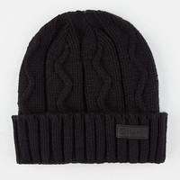 Yea.Nice The Cavo Beanie Black One Size For Men 26481210001