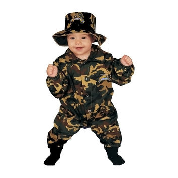 Baby Military Officer Costume Set - 0-9 mo.