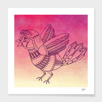 «Steampunk Pigeon», Limited Edition Fine Art Print by Fotios Pavlopoulos - From $29 - Curioos
