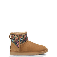 UGG® Classic Mini Floral Grunge for Women | Free shipping at UGGAustralia.com