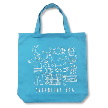 """Overnight Bag"" Tote Bag"