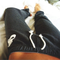 Female Ladies Nike Yoga Jogging Pants 1 Size