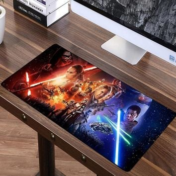 Star Wars Force Episode 1 2 3 4 5 FFFAS 70x30cm  Force Unleashed Big Mouse Pad Large Super Speed Mousepad America Fashion Laptop Notebook Keyboard Mat XL AT_72_6