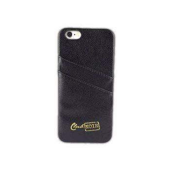 Club Noir — Iphone 6 or 6 plus card case
