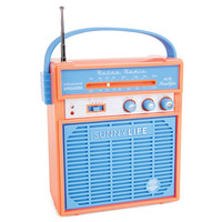 Sunnylife Retro Sounds Radio Orange One Size For Men 25704770001