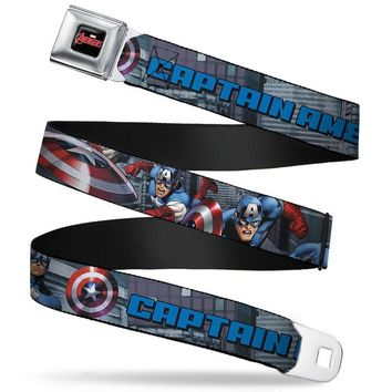 Captain America Avengers Belt